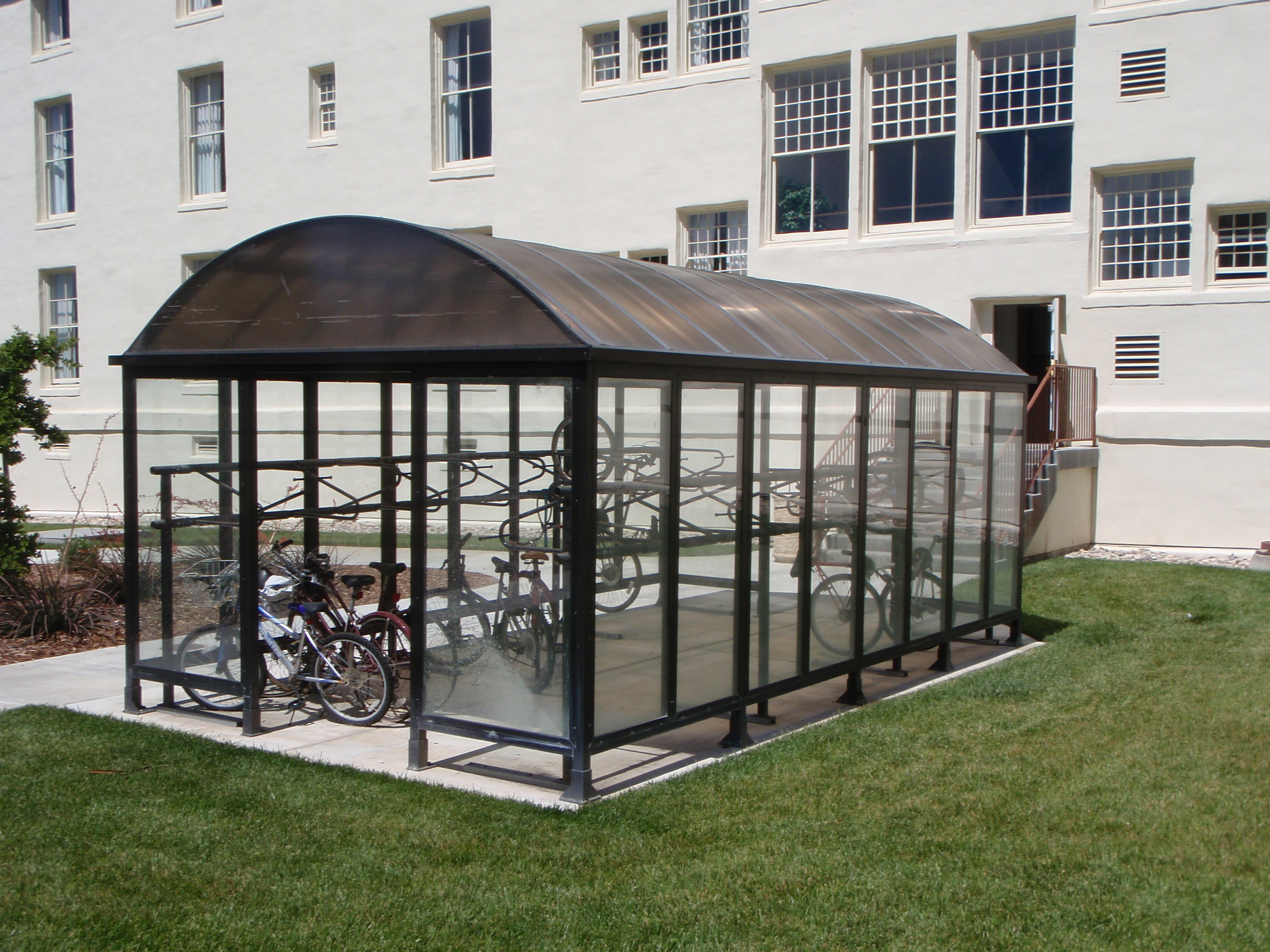 Covered Bike Storage : Rejected projects the green team hbll
